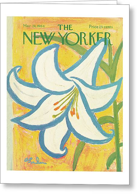 New Yorker March 28th, 1964 Greeting Card
