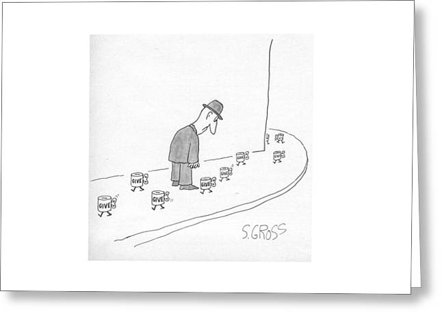 New Yorker March 28th, 1977 Greeting Card