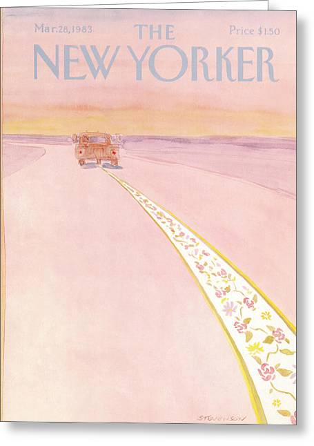 New Yorker March 28th, 1983 Greeting Card