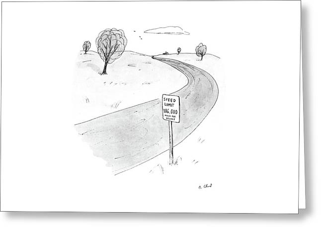 New Yorker March 28th, 1988 Greeting Card