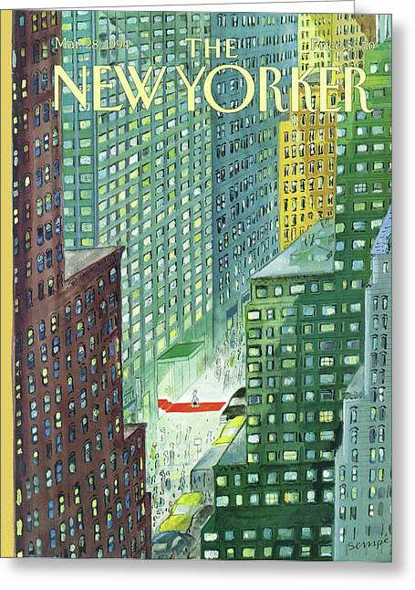 New Yorker March 28th, 1994 Greeting Card