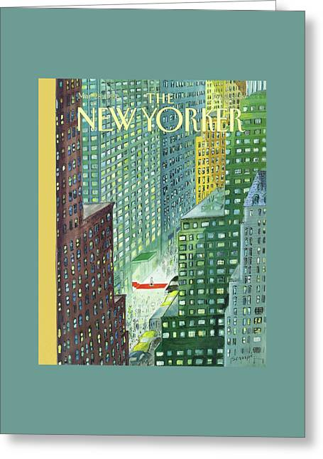 New Yorker March 28th, 1994 Greeting Card by Jean-Jacques Sempe