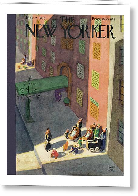 New Yorker March 2nd, 1935 Greeting Card