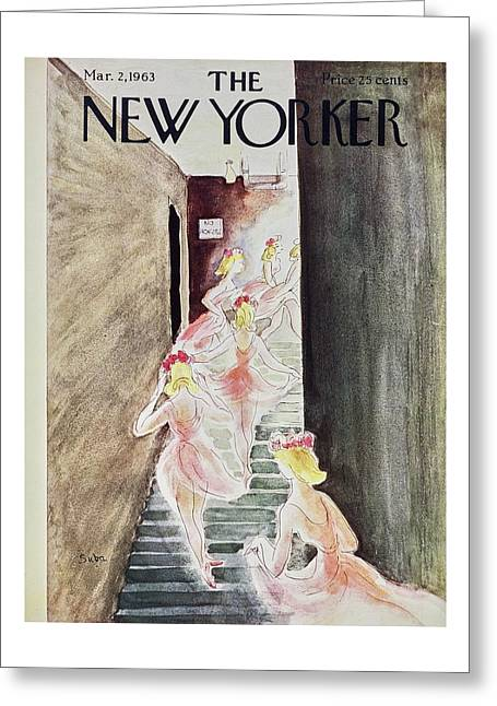 New Yorker March 2nd 1963 Greeting Card