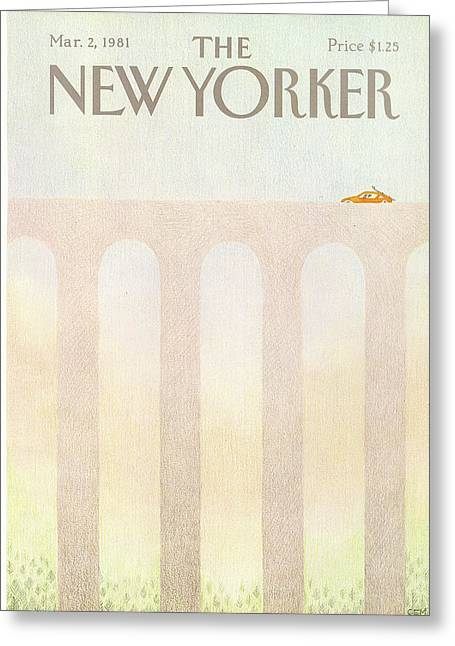 New Yorker March 2nd, 1981 Greeting Card