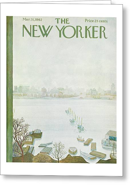 New Yorker March 31st, 1962 Greeting Card