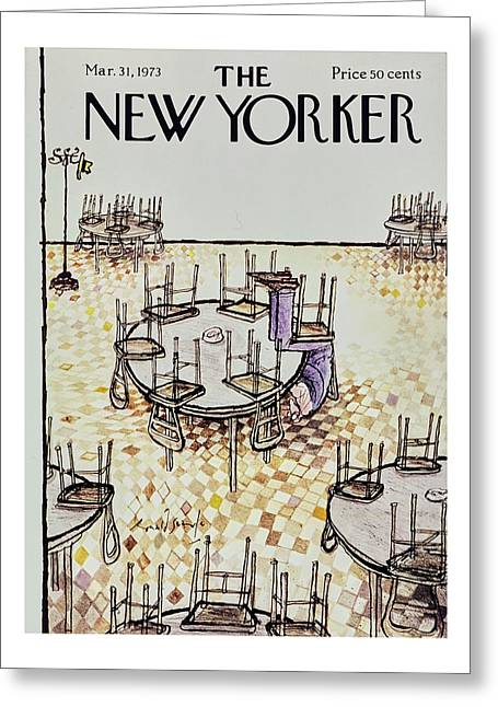New Yorker March 31st 1973 Greeting Card