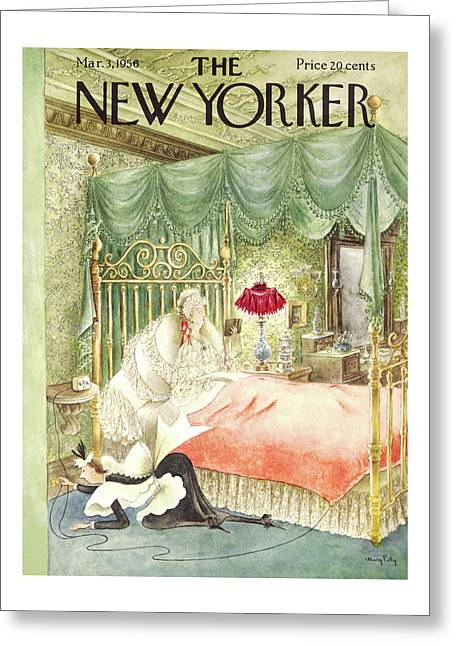 New Yorker March 3rd, 1956 Greeting Card