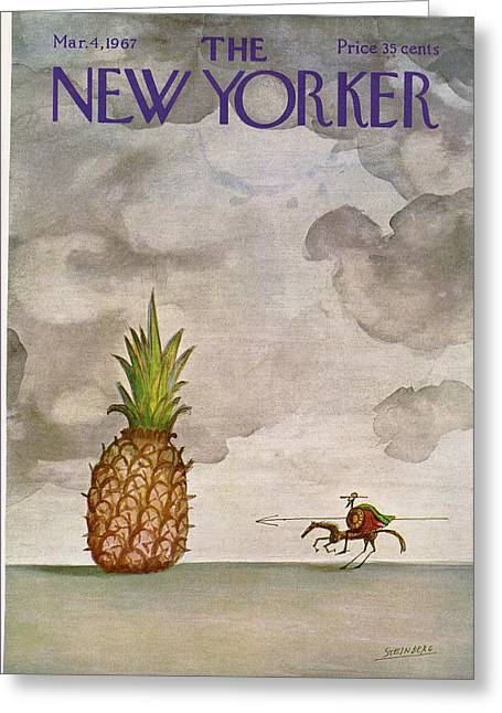 New Yorker March 4th, 1967 Greeting Card