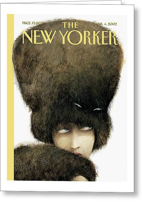 New Yorker March 4th, 2002 Greeting Card