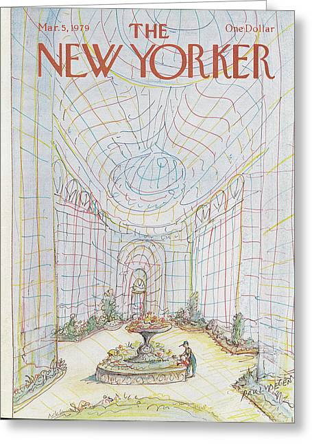 New Yorker March 5th, 1979 Greeting Card