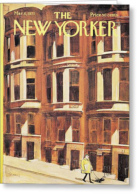 New Yorker March 6th, 1971 Greeting Card