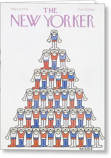 New Yorker March 6th 1978 Greeting Card
