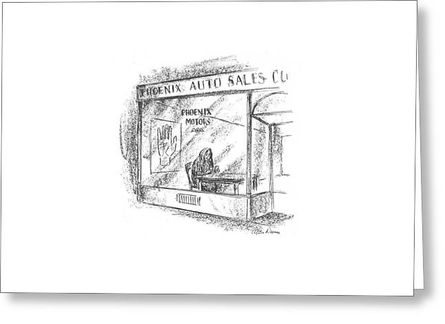 New Yorker March 7th, 1942 Greeting Card