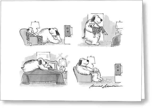 New Yorker March 7th, 1988 Greeting Card