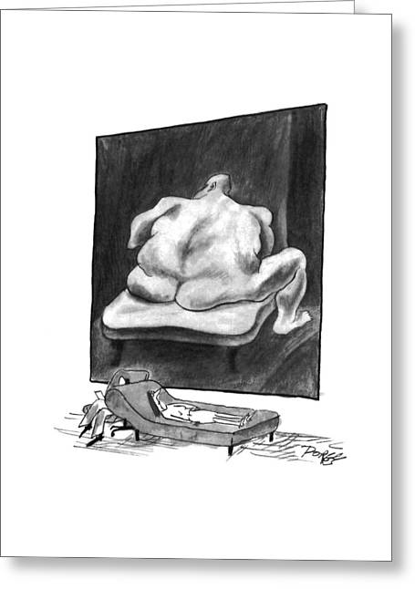 New Yorker March 7th, 1994 Greeting Card