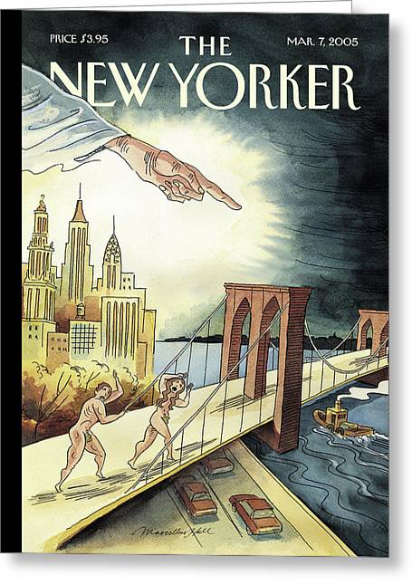 New Yorker March 7, 2005 Greeting Card