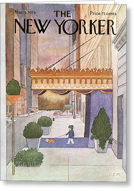 New Yorker March 8th, 1976 Greeting Card