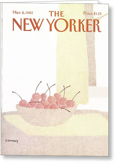 New Yorker March 8th, 1982 Greeting Card