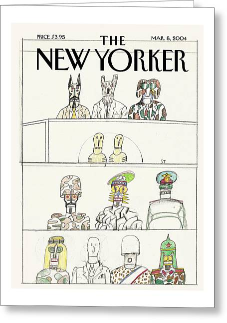 New Yorker March 8th, 2004 Greeting Card