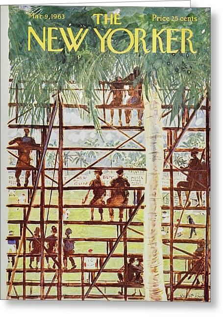 New Yorker March 9th 1963 Greeting Card