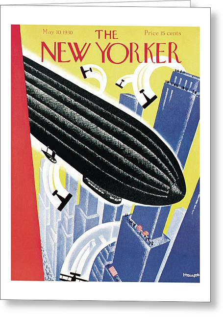 New Yorker May 10th, 1930 Greeting Card