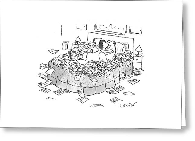 New Yorker May 10th, 1993 Greeting Card by Arnie Levin