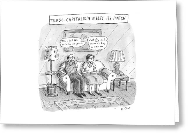 New Yorker May 10th, 1999 Greeting Card