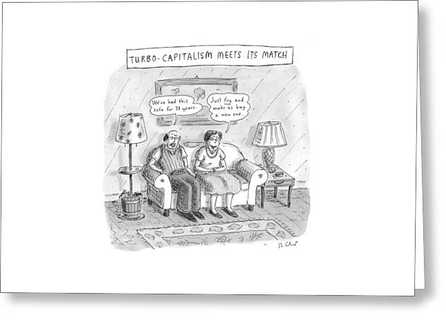 New Yorker May 10th, 1999 Greeting Card by Roz Chast