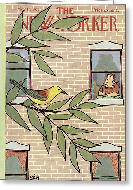 New Yorker May 11th, 1963 Greeting Card