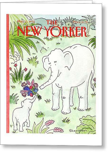 New Yorker May 11th, 1992 Greeting Card