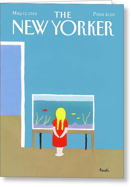 New Yorker May 12th, 1986 Greeting Card