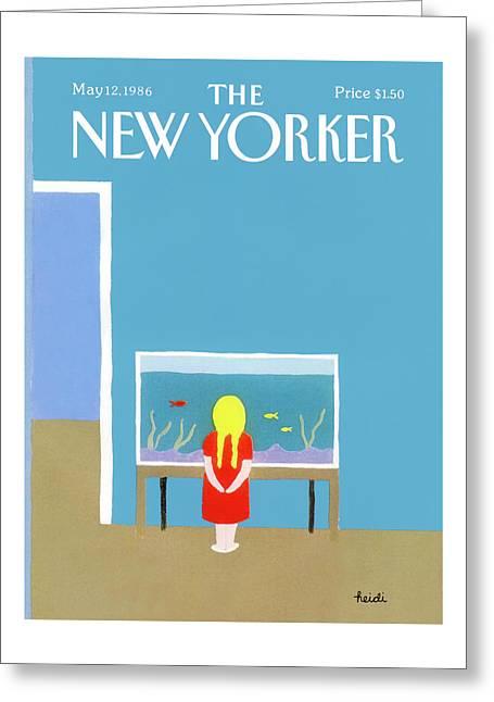 New Yorker May 12th, 1986 Greeting Card