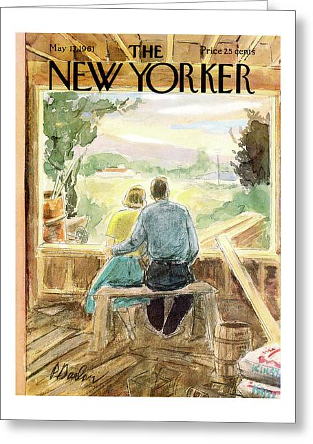 New Yorker May 13th, 1961 Greeting Card