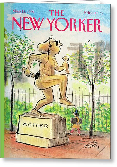 New Yorker May 13th, 1991 Greeting Card