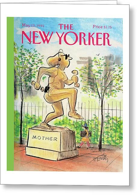 New Yorker May 13th, 1991 Greeting Card
