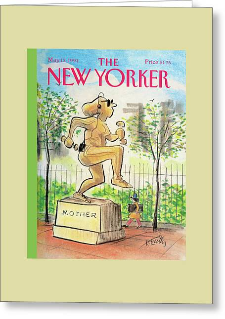 New Yorker May 13th, 1991 Greeting Card by Donald Reilly