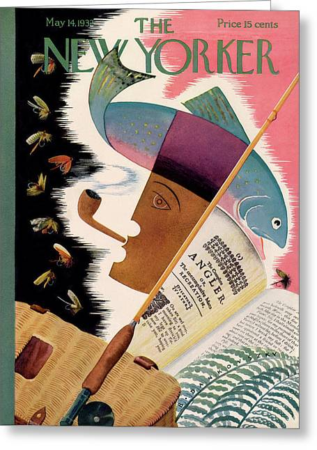New Yorker May 14th, 1932 Greeting Card