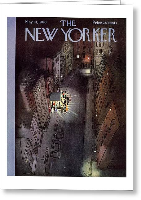 New Yorker May 14th 1960 Greeting Card
