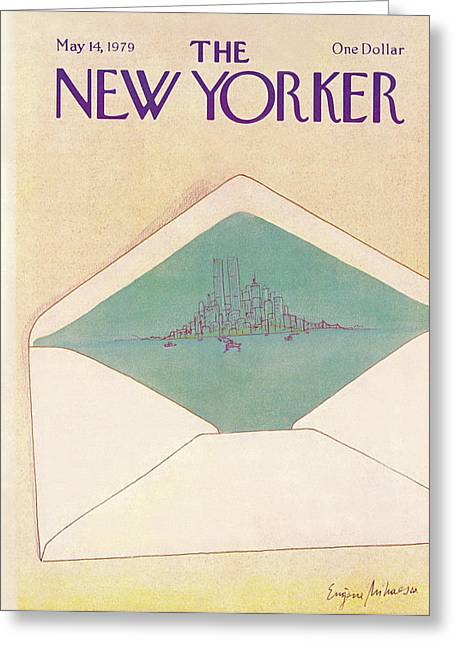 New Yorker May 14th, 1979 Greeting Card by Eugene Mihaesco