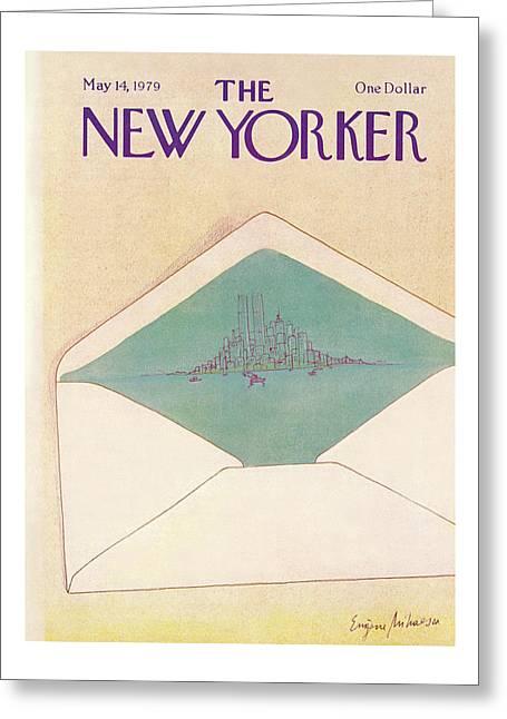New Yorker May 14th, 1979 Greeting Card