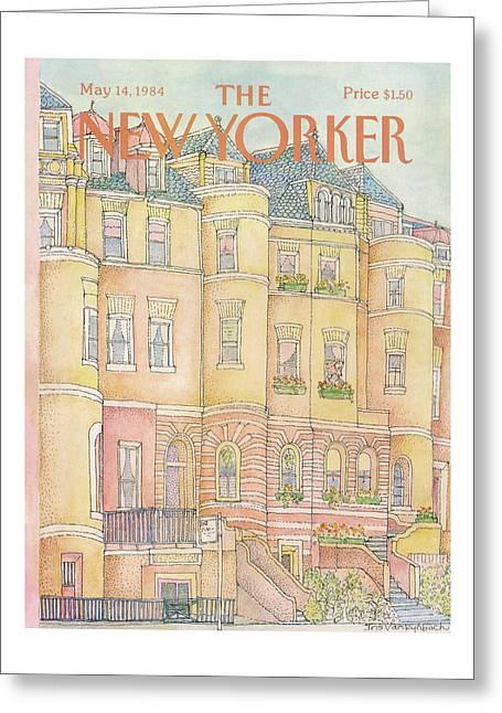 New Yorker May 14th, 1984 Greeting Card