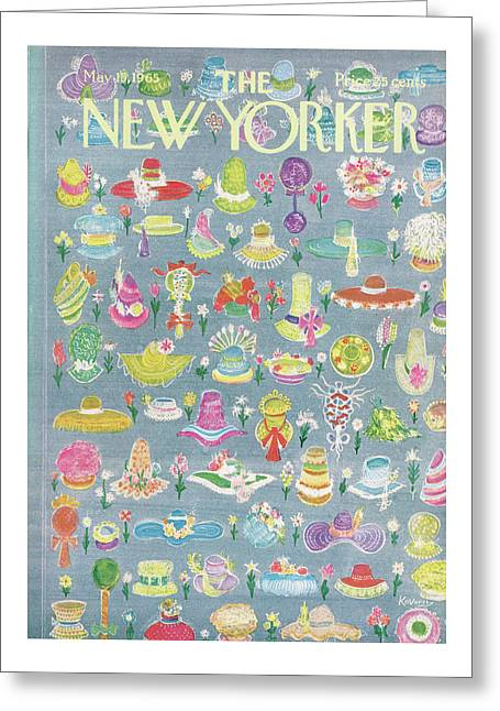 New Yorker May 15th, 1965 Greeting Card