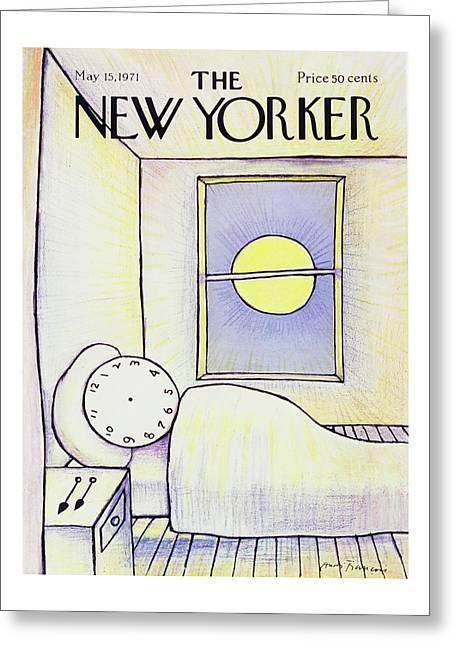 New Yorker May 15th 1971 Greeting Card