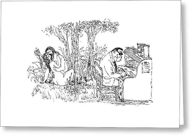New Yorker May 15th, 1971 Greeting Card by William Steig
