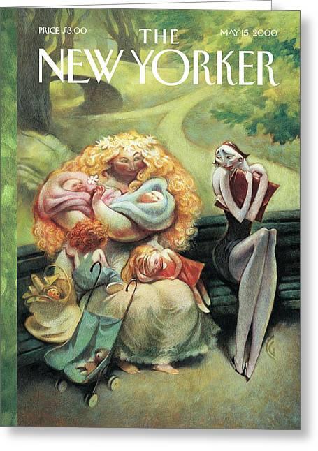 New Yorker May 15th, 2000 Greeting Card