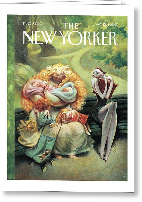 New Yorker May 15th, 2000 Greeting Card