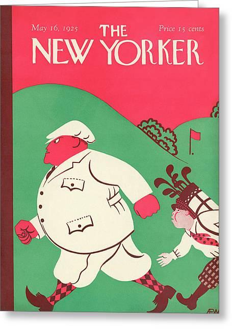New Yorker May 16th, 1925 Greeting Card