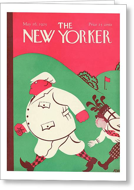 New Yorker May 16th, 1925 Greeting Card