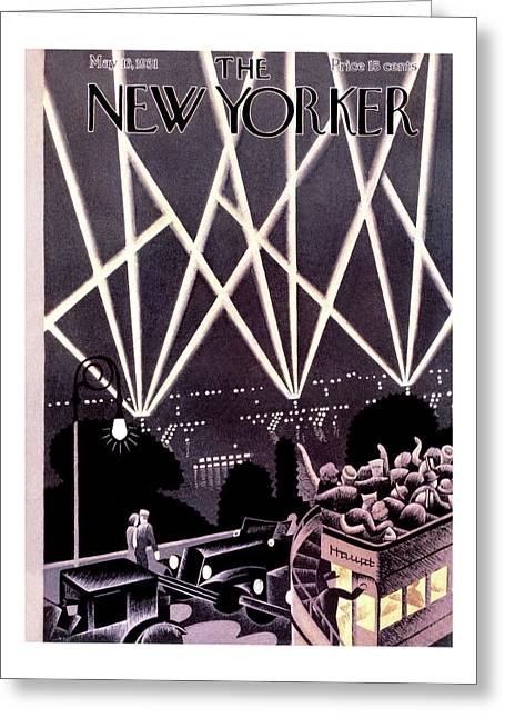 New Yorker May 16th, 1931 Greeting Card